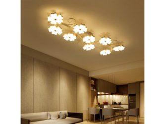 Какая люстра лучше освещает комнату?