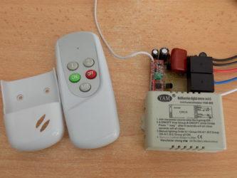 Блок радиоуправления с пультом для люстры