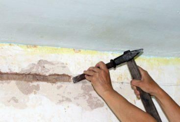 Как проштробить стену под проводку своими руками?