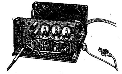 Прибор для автоматической тренировки аккумуляторов