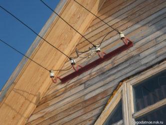 Провод для наружной проводки на улице