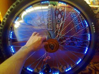 Светодиоды на велосипед своими руками
