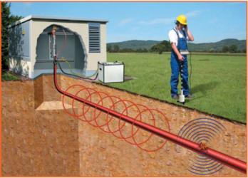 Прибор для обнаружения кабеля под землей