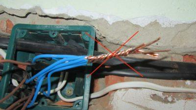 Пайка проводки в квартире