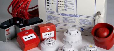 Приборы для установки систем пожарной сигнализации