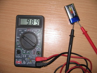 Проверить проводку с помощью мультиметра