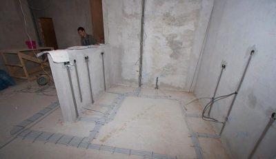 Монтаж проводки в монолитном доме