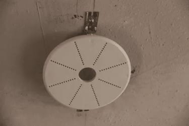 Закладная для люстры в натяжном потолке