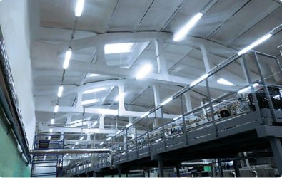 Осветительные приборы для производственных помещений