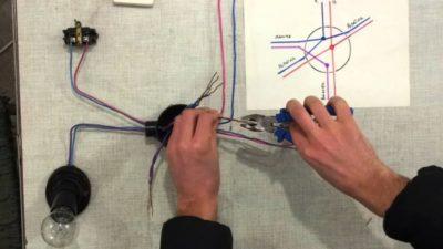 Как соединить проводку в доме?