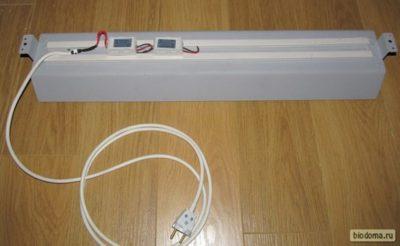 Коробки для ламп дневного света