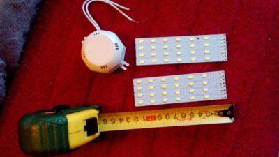Светодиодные источники света на жесткой печатной плате