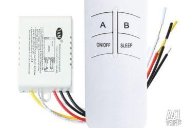 Радиоуправляемый выключатель света