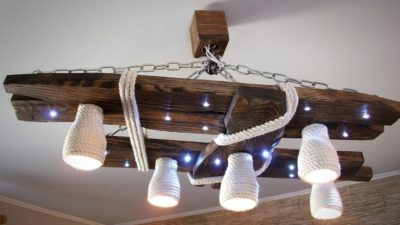 Люстры для деревянного дома с низким потолком