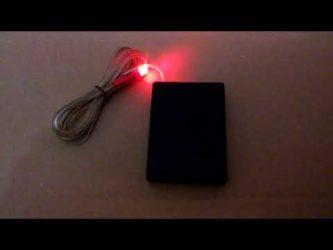 Сигнализация обманка мигающий светодиод