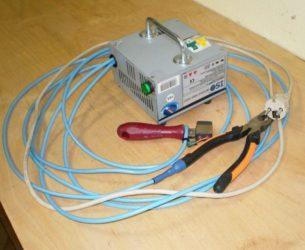 Прибор для пайки медных проводов