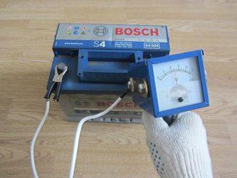 Нагрузочный прибор для проверки аккумулятора