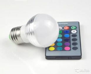 Светодиоды с изменяемым цветом