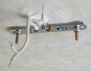 Типы крепления люстр к потолку