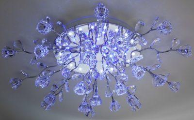 Светодиодные лампочки для люстры с пультом