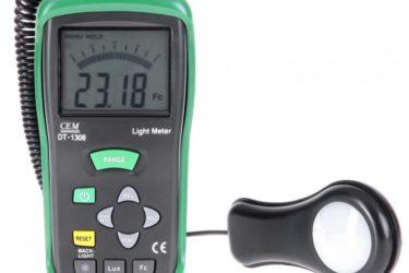 Прибор для измерения освещения в помещении