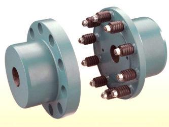Соединение полумуфт насоса и электродвигателя