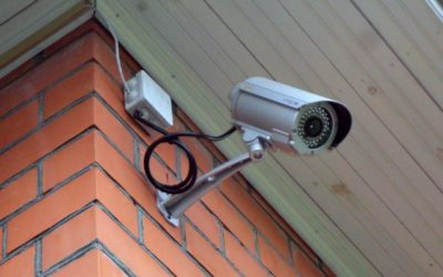 Установка видеонаблюдения проводки