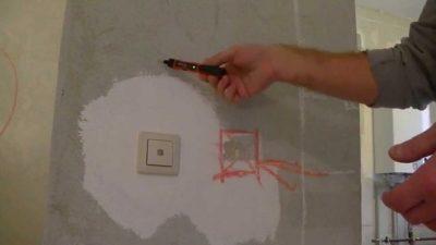 Как найти проводку в стене под штукатуркой?