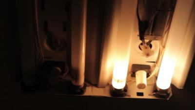 Лампа дневного света мигает но не загорается