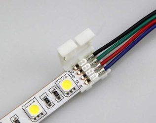 Провод для соединения светодиодной ленты