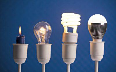 Переход световой энергии светодиодов в тепловую энергию