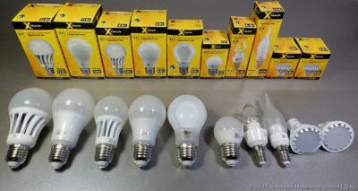 Подбор светодиодов для светильников