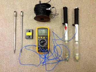 Измерение блуждающих токов в земле прибор