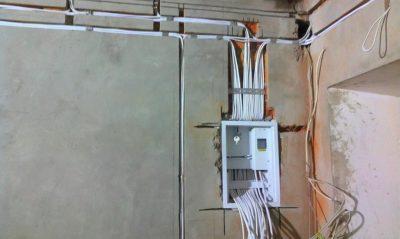 Замена электрической проводки в квартире