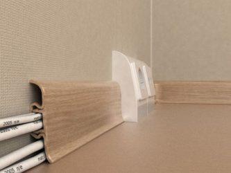 Как спрятать проводку в квартире?