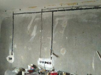 Замена старой проводки в квартире своими руками