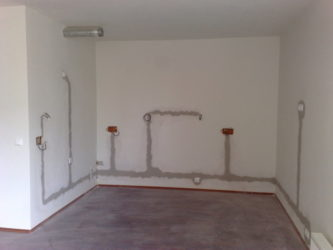 Скрытая проводка в квартире