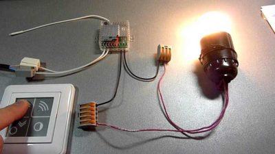 Электронный переключатель света