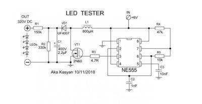 Пробник для проверки светодиодов своими руками