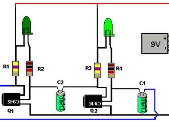 Как сделать мигающий светодиод на авто?
