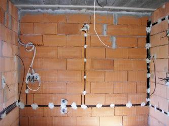 Замена проводки в частном доме