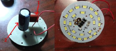 Мигает светодиодная лента при выключенном свете
