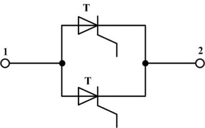 Параллельное соединение тиристоров