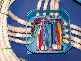 Монтаж проводки без распаечных коробок