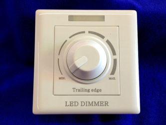 Выключатель света с диммером для светодиодных ламп
