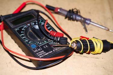 Как проверить проводку в автомобиле мультиметром?