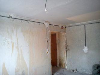 Частичная замена проводки в панельном доме