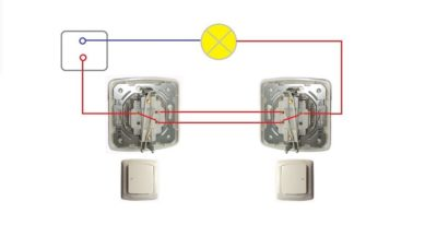 Переходные выключатели света