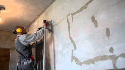 Штробление стен под проводку без пыли