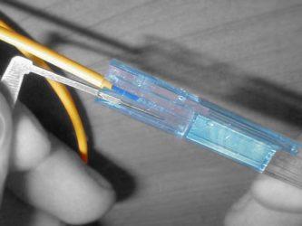 Соединение оптоволокна без сварки